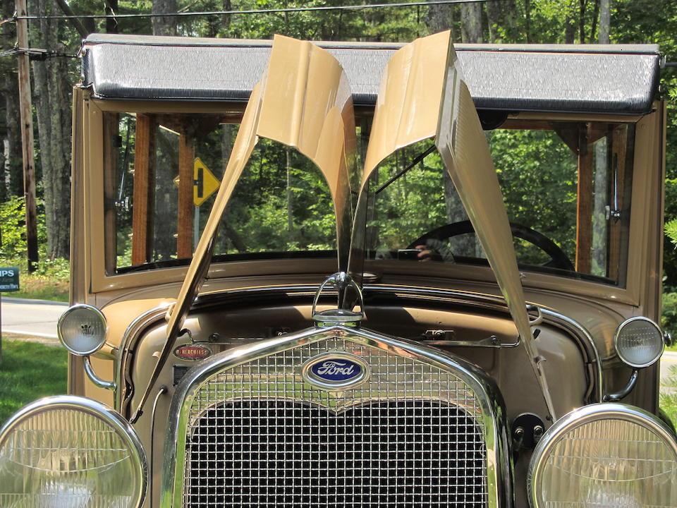 <b>1930 FORD MODEL A STATION WAGON  </b><br />Engine no. 2679223
