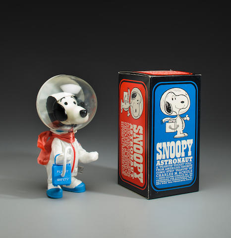 SNOOPY—THE MASCOT OF THE APOLLO X LM CREW—SIGNED