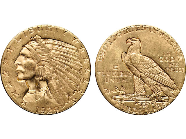 1929 $5