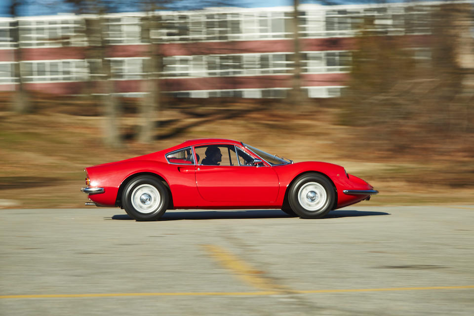 <b>1969 FERRARI DINO 206 GT  </b><br />Chassis no. 00336 <br />Engine no. 0005116