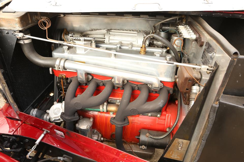 <i>Long time vintage race competitor</i><br /><B>1934 MG ND MAGNETTE SUPERCHARGED SPECIAL TWO SEATER  </b><br />Chassis no. NA 0484 <br />Engine no. 736 AN