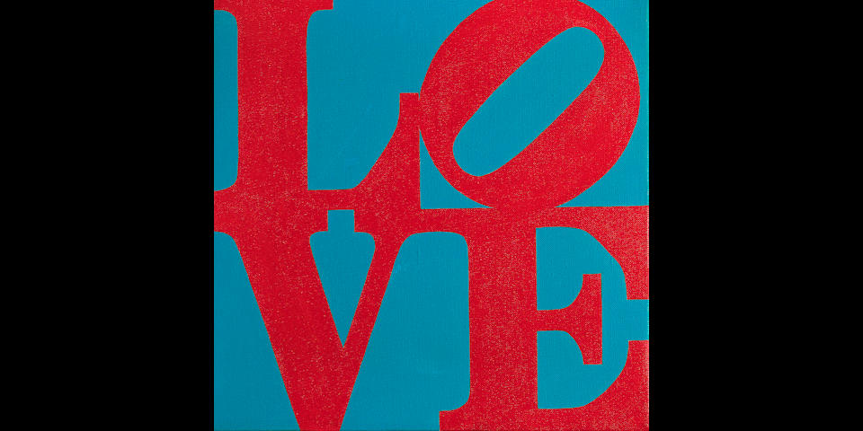 ROBERT INDIANA (b. 1928) LOVE, 1965