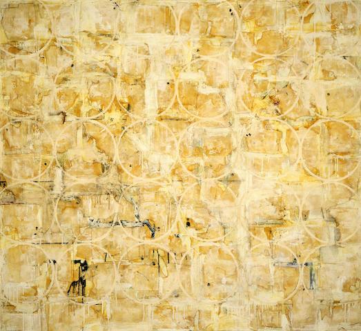 Paul Manes (American, born 1948) Bombay 66 x 72in