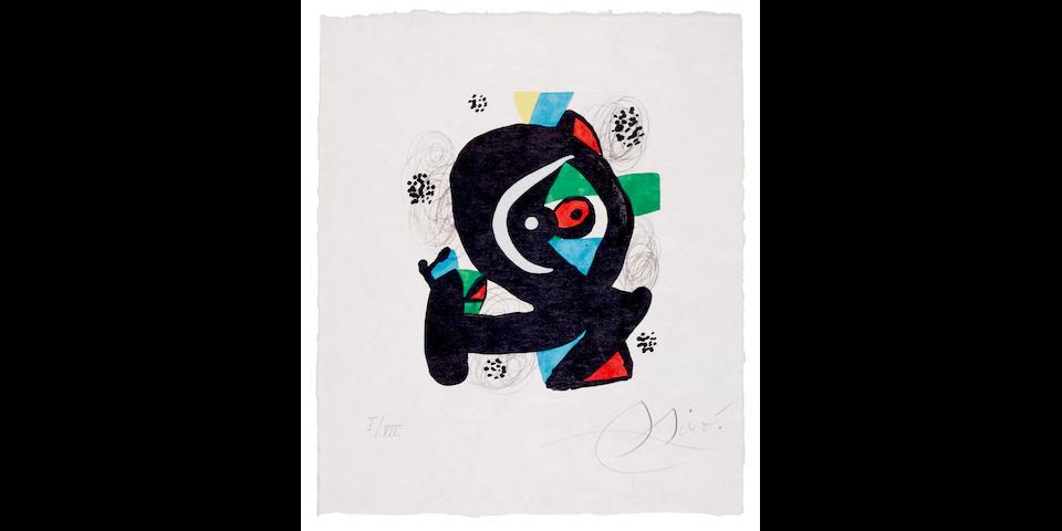 Joan Miró (1893-1983); La Mélodie Acide; (28)