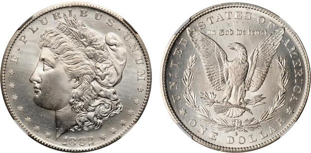 1882-S $1 MS67* NGC