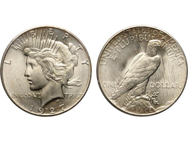 1927 $1 MS65 PCGS