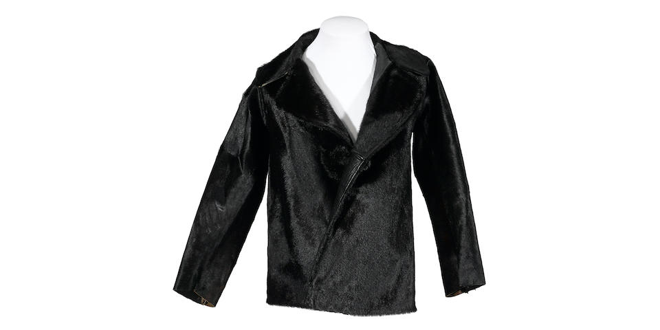A Jim Morrison cowhide jacket worn at the Doors' 1969 Madison Square Garden concert