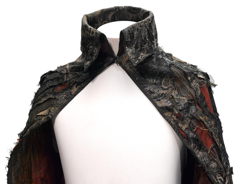 The Hessian Horseman's cape and sword from Sleepy Hollow
