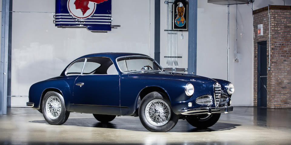 <b>1952 ALFA ROMEO 1900C SPRINT COUPE  </b><br />Chassis no. AR1900C*01227 <br />Engine no. AR1308*00218