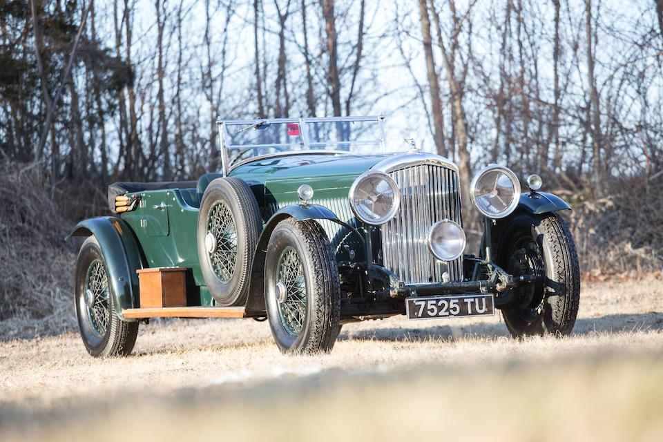 <b>1936 BENTLEY 4&#188; LITER TOURER  </b><br />Chassis no. B 49 GP <br />Engine no. U 2 5K