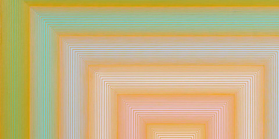 RICHARD ANUSZKIEWICZ (b. 1930) Green and Others, 1970