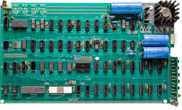 APPLE-1 COMPUTER.