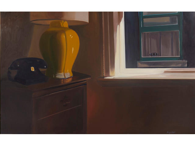 John Register (1939-1996) Two Telephones, 1984 30 1/4 x 48 1/4 in. (76.8 x 122.6 cm)