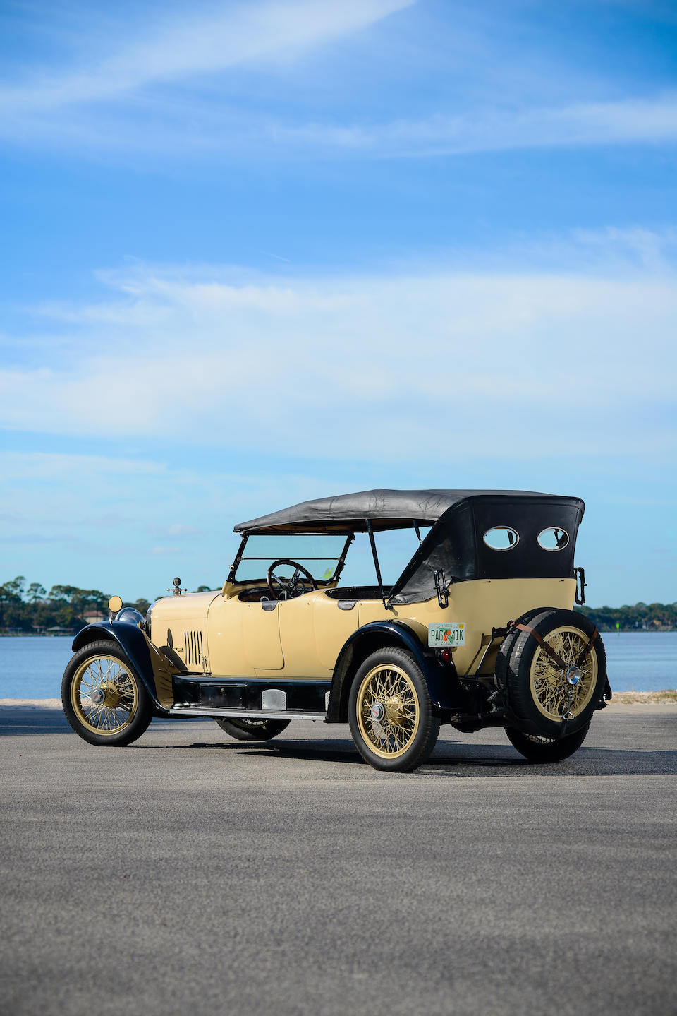 <i>Ex-Edwin L. Griffin of the Pacific Northwest based Griffin Fuel Company</i><br /><b>1922 MERCER SERIES 5 SPORTING  </b><br />Chassis no. 16210 <br />Engine no. 6815