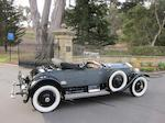 <i>Formerly in the collection of William Ruger Sr.</i><br /><B>1926 ROLLS-ROYCE SILVER GHOST PICCADILLY ROADSTER  </b><br />Chassis no. S335RL <br />Engine no. 22355