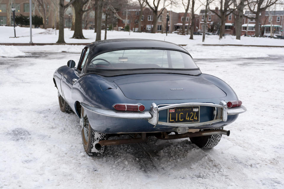 <b>1963 JAGUAR E-TYPE SERIES 1 3.8 ROADSTER   </b><br />Chassis no. 879037 <br />Engine no. R 9820-9