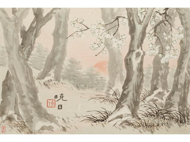 Chen Hongshou (1768-1822)  Plum Blossoms
