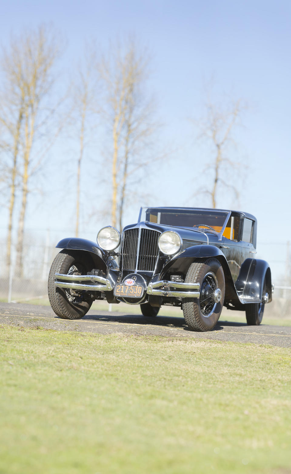 <i>From the Estate of Jay Hyde, owned for more than 55 years</i><br /><B>1930 CORD MODEL L-29 TOWN CAR  </b><br />Chassis no. 2926823 <br />Engine no. FD 2410