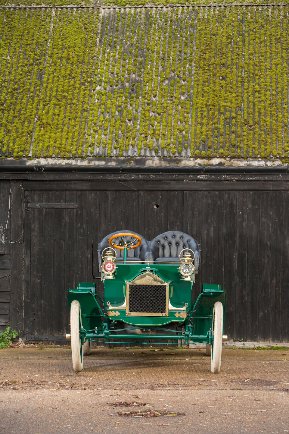 """<i>Formerly part of the General Motors Heritage Collection</i><br /><b>1904 OLDSMOBILE  MODEL N """"FRENCH FRONT"""" TOURING RUNABOUT  </b><br />Engine no. 31285"""