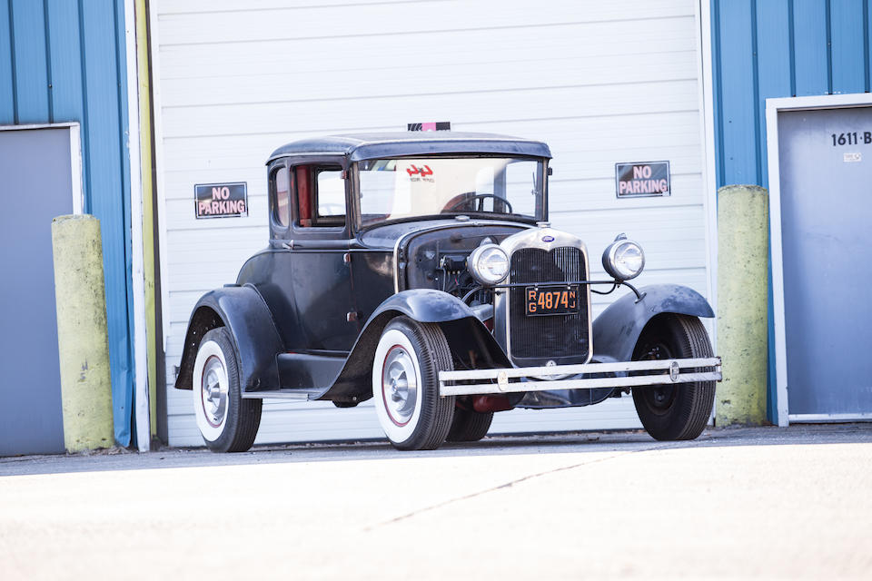 <i>All proceeds to benefit the Autism Speaks charity</i><br /><b>1930 FORD MODEL A DELUXE 5-WINDOW COUPE</b>