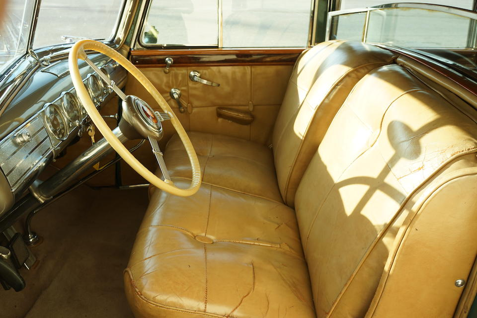<i>Proceeds to benefit the Simeone Automotive Foundation</i><br /><b>1938 PACKARD 1608 TWELVE CONVERTIBLE SEDAN  </b><br />Engine no. A600547