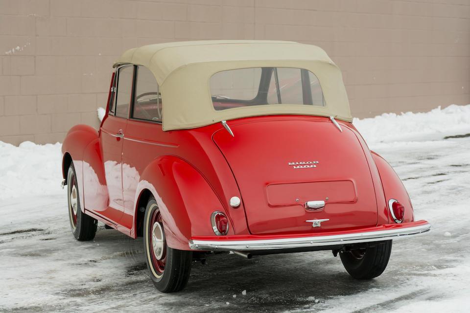 <b>1959 MORRIS MINOR 1000 TOURER  </b><br />Chassis no. M/AT3L 717264