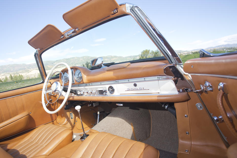 <i>Disc brake, alloy block</I><br /><b>1962 MERCEDES-BENZ 300SL ROADSTER  <br /></b>Chassis no. 198.042.10.003050 <br />Engine no. 198.982.10.000003