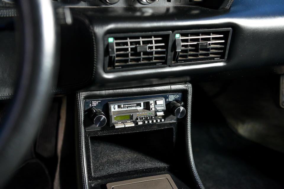 <i>Fewer than 7,600 original miles</i><br /><b>1981 BMW M1 COUPE  </b><br />VIN. WBS59910004301336