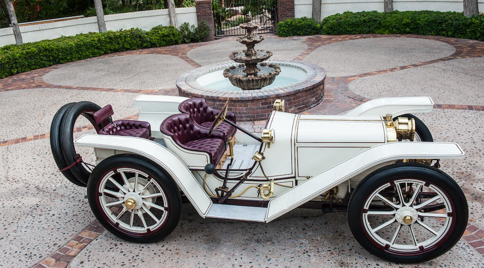 <i>Ex-Lindley Bothwell and D. Cameron Peck</i><br /><b>1908 AMERICAN UNDERSLUNG 50hp ROADSTER  </b><br />Chassis no. 1427 <br />Engine no. 1448