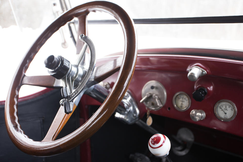 <b>1922 WILLS ST CLAIRE MODEL A-68 RUMBLE-SEAT ROADSTER</b>