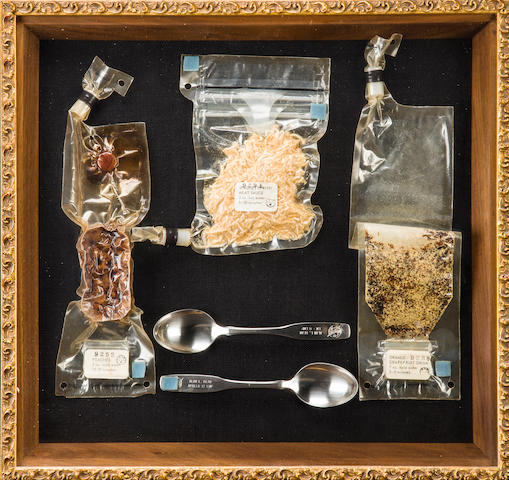 FLOWN ON APOLLO 12—ALAN BEAN'S FAVORITE MEAL