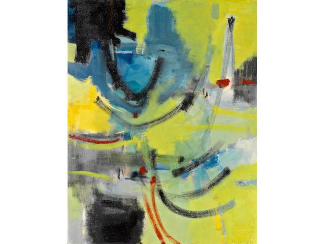 Edward Dugmore (1915-1996) Metart Series #16, 1949-50 47 5/8 x 37 3/8 in. (121 x 94.9 cm)