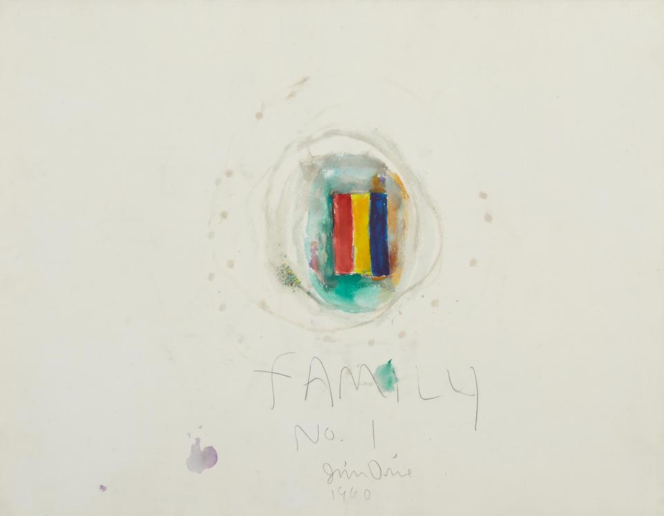 JIM DINE (b. 1935) The Family, 1960