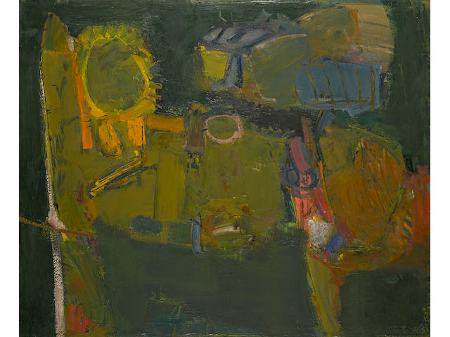 John Altoon (1925-1969) Untitled, 1957 37 1/2 x 45 in. (95.3 x 114.3 cm)