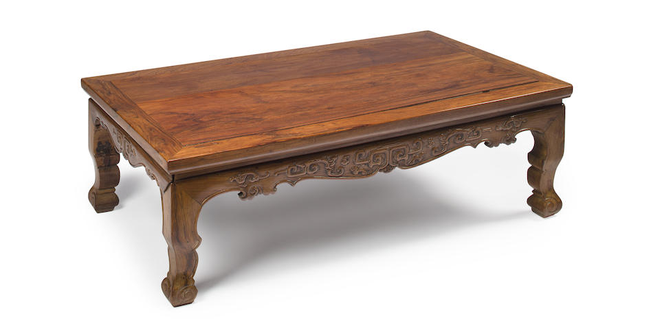 A huanghuali kang table  18th century
