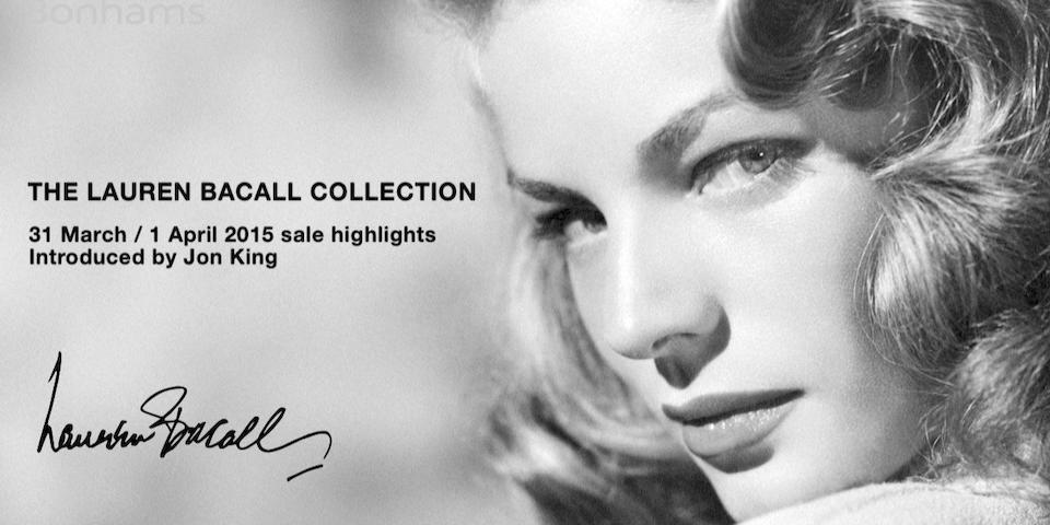 Video: Highlights from The Lauren Bacall Collection