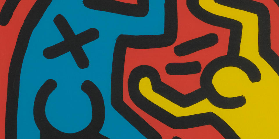 Keith Haring (1958-1990); Untitled; (4)