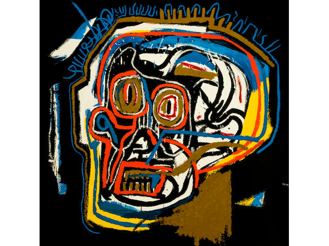 After Jean-Michel Basquiat (1960-1988); Untitled (Head);
