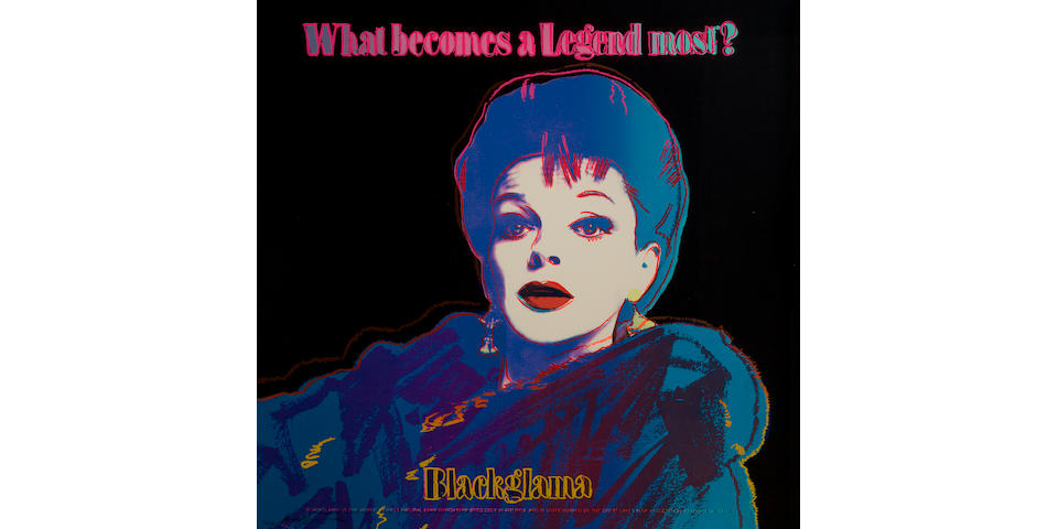 Andy Warhol (1928-1987); Blackglama (Judy Garland), from Ads;
