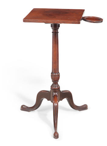 A Federal mahogany square-top stand American or English, late 18th/early 19th century