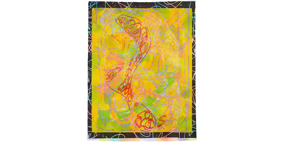 Frank Stella (born 1936); Estoril Five I, from Circuits;