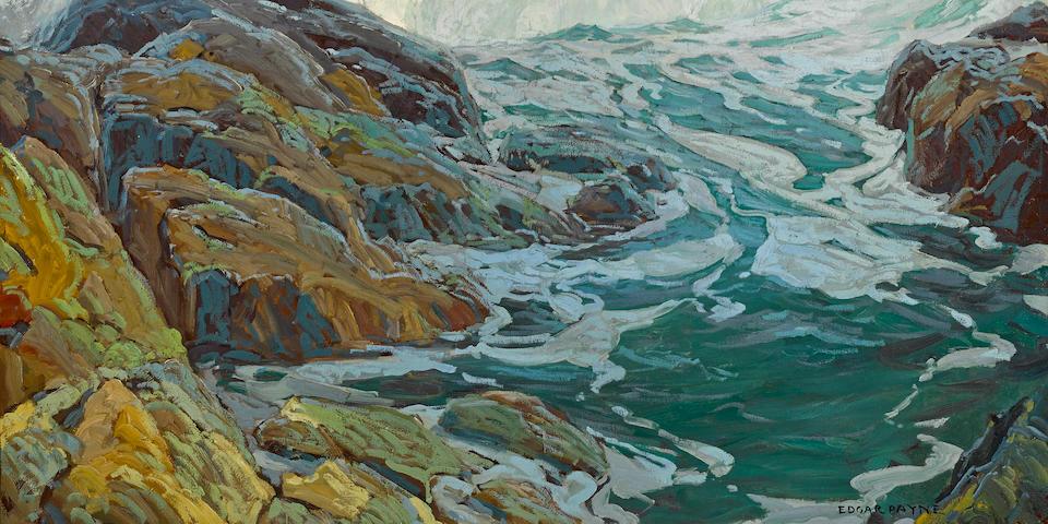 Edgar Payne (1883-1947) Laguna breakers 48 x 57in (overall: 56 x 65in)
