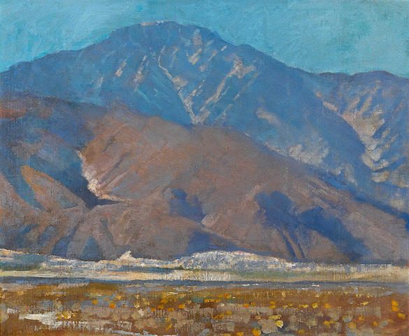 Alson Skinner Clark (1876-1949) San Jacinto 17 1/2 x 21 1/2in overall: 25 1/2 x 29 1/2in (Painted in 1930)