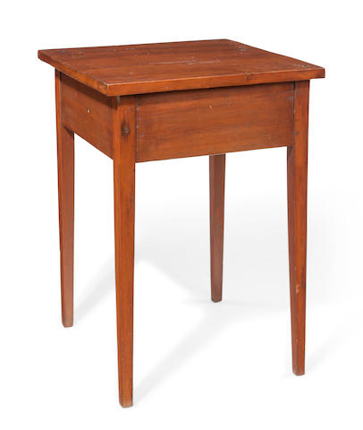A Federal walnut stand New England, early 19th century