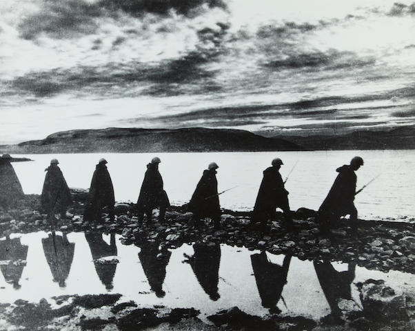 YEVGENI KHALDEI (Russian, 1917-1997) 17 x 21.25 in (43.2 x 54 cm)