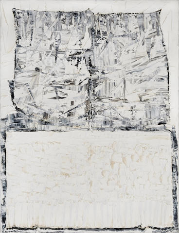 JEAN-PAUL RIOPELLE (1923-2002) Untitled (from the Iceberg series), circa1977