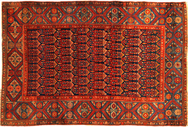 A Bibikibad rug size approximately 4ft. 8in. x 6ft.