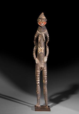 Yessan-Warasei Female Figure, East Sepik Province, Papua New Guinea