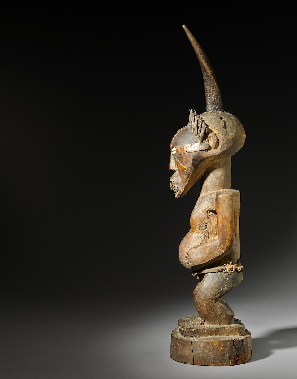 Large Songye Power Figure, Democratic Republic of the Congo
