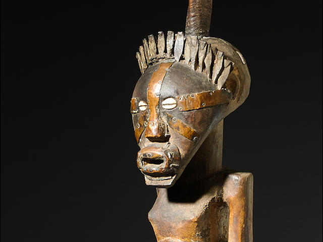 Large Songye Power Figure, Democratic Republic of the Congo